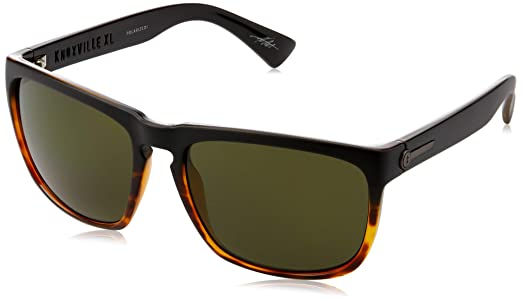 acd8723ce3 Electric Eyewear Men s Knoxville XL Polarized Dark Side Tort Ohm Polar Grey  One Size