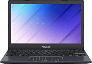 """ASUS L210 11.6"""" HD Ultra Thin Laptop, Intel Celeron N4020 Processor, 4GB RAM, 64GB Storage, NumberPad, Windows 10 S with One Year of Microsoft 365 Personal, 64GB ABYS Micro SD Card"""
