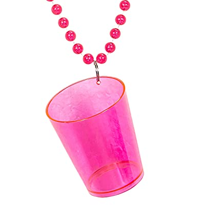 Collier shooter rose adulte