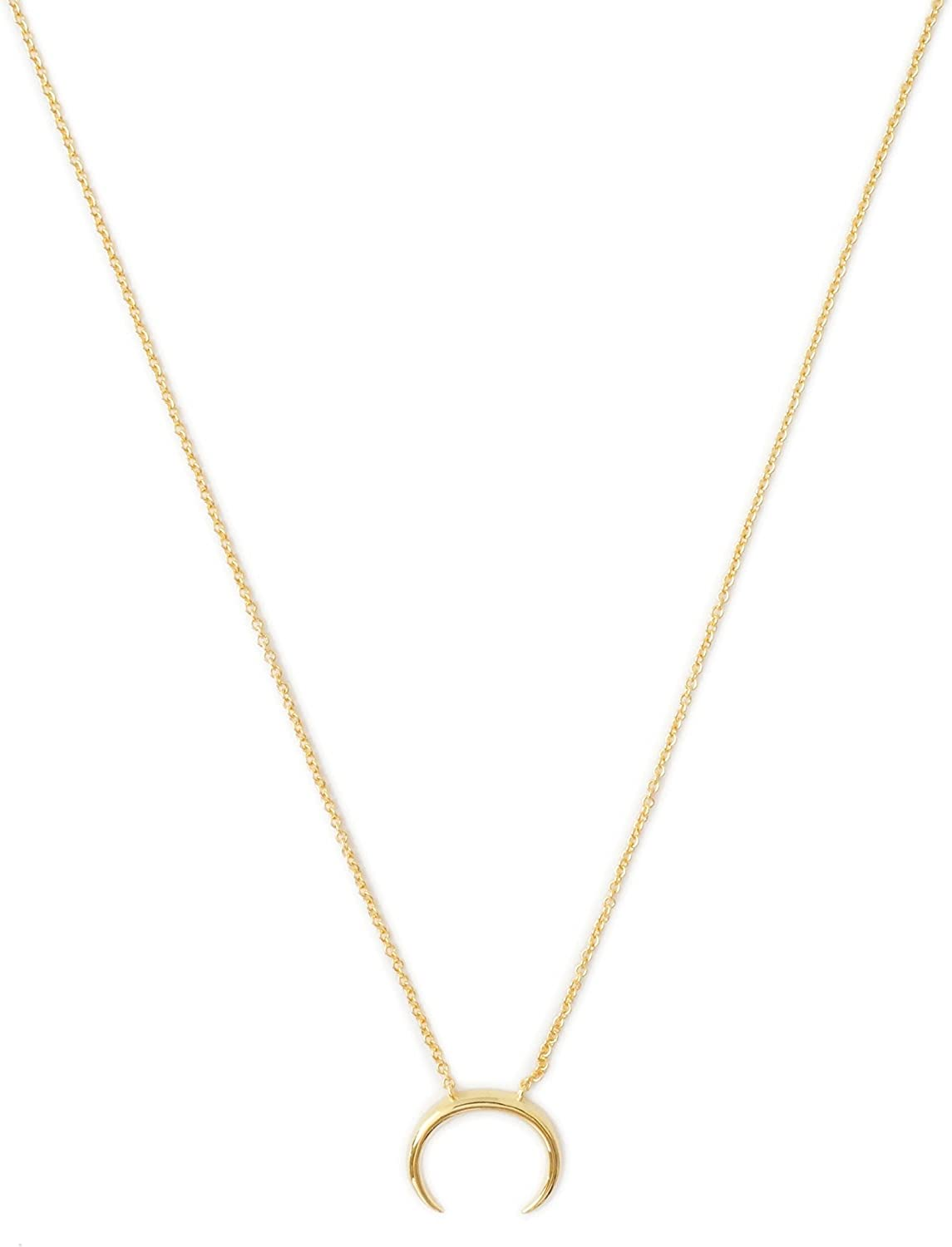 Jewels Obsession Cat Necklace 14K Rose Gold-plated 925 Silver Cat Pendant with 18 Necklace
