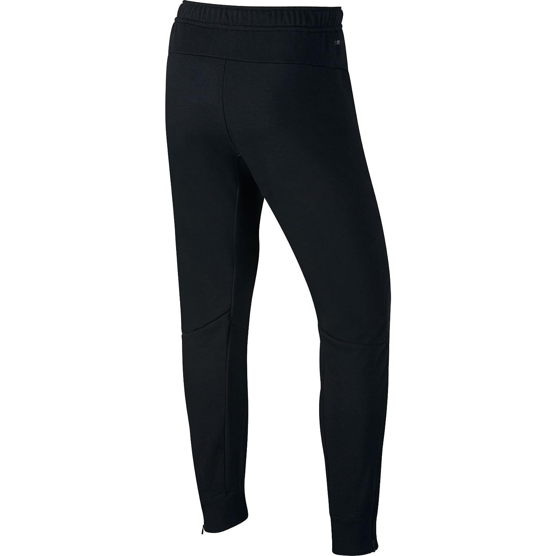 8b532d6cfb0cf Nike Mens Dri-Fit Cuffed Training Sweatpants Black/White 728345-010 ...