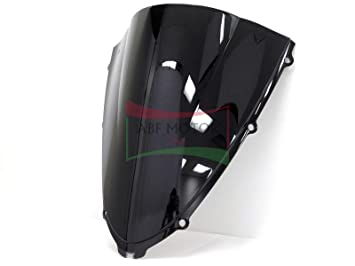 Protek ABS Plastic Injection Black Smoke Double Bubble Transparent Windscreen Windshield for 2006 2007 2008 2009 2010 2011 2012 2013 2014 2015 2016 ...
