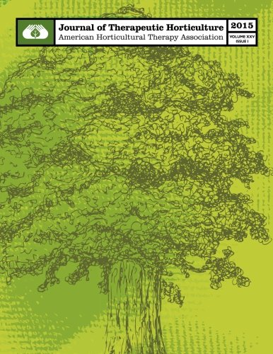 Download AHTA Journal of Therapeutic Horticulture Volume XXV Issue I (Volume 25) pdf epub