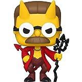 Boneco The Simpsons Casa da Árvore dos Horrores Devil Flanders Pop Funko 1029