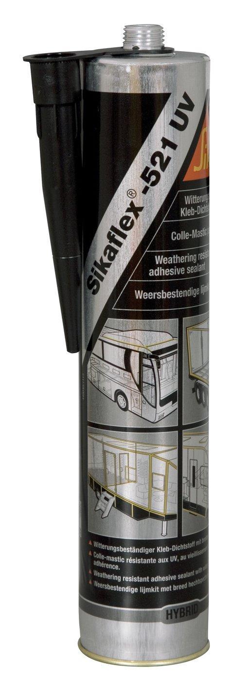 Sika Sikaflex 521 300ml Cartridge Light Grey 1-K UV 62139 PU Hybrid Sealant Qty: 1