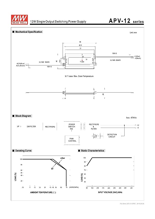 61DwBjjlodL._SY886_ mean well apv 12 12 12v 1a power supply led driver water & dust mean well lpv-60-12 wiring diagram at cos-gaming.co