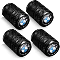 Baoxijie 4 Pcs Metal Car Wheel Tire Valve Stem Caps for BMW X1 X3 M3 M5 X1 X5 X6 Z4 3 5 7Series Styling Decoration…
