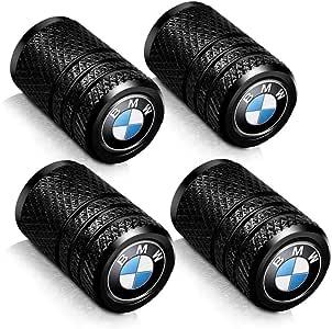 Baoxijie 4 Pcs Metal Car Wheel Tire Valve Stem Caps for BMW X1 X3 M3 M5 X1 X5 X6 Z4 3 5 7Series Styling Decoration Accessories