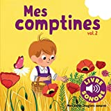 img - for Mes petits imagiers sonores : Mes comptines (Tome 2): 6 images   regarder, 6 comptines    couter - livre sonore - audio CD (French Edition) book / textbook / text book