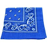 Paisley Cotton Bandanas ROYAL