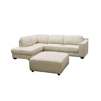 Excellent Amazon Com Diamond Sofa Zen Collection Left Facing Chaise Creativecarmelina Interior Chair Design Creativecarmelinacom