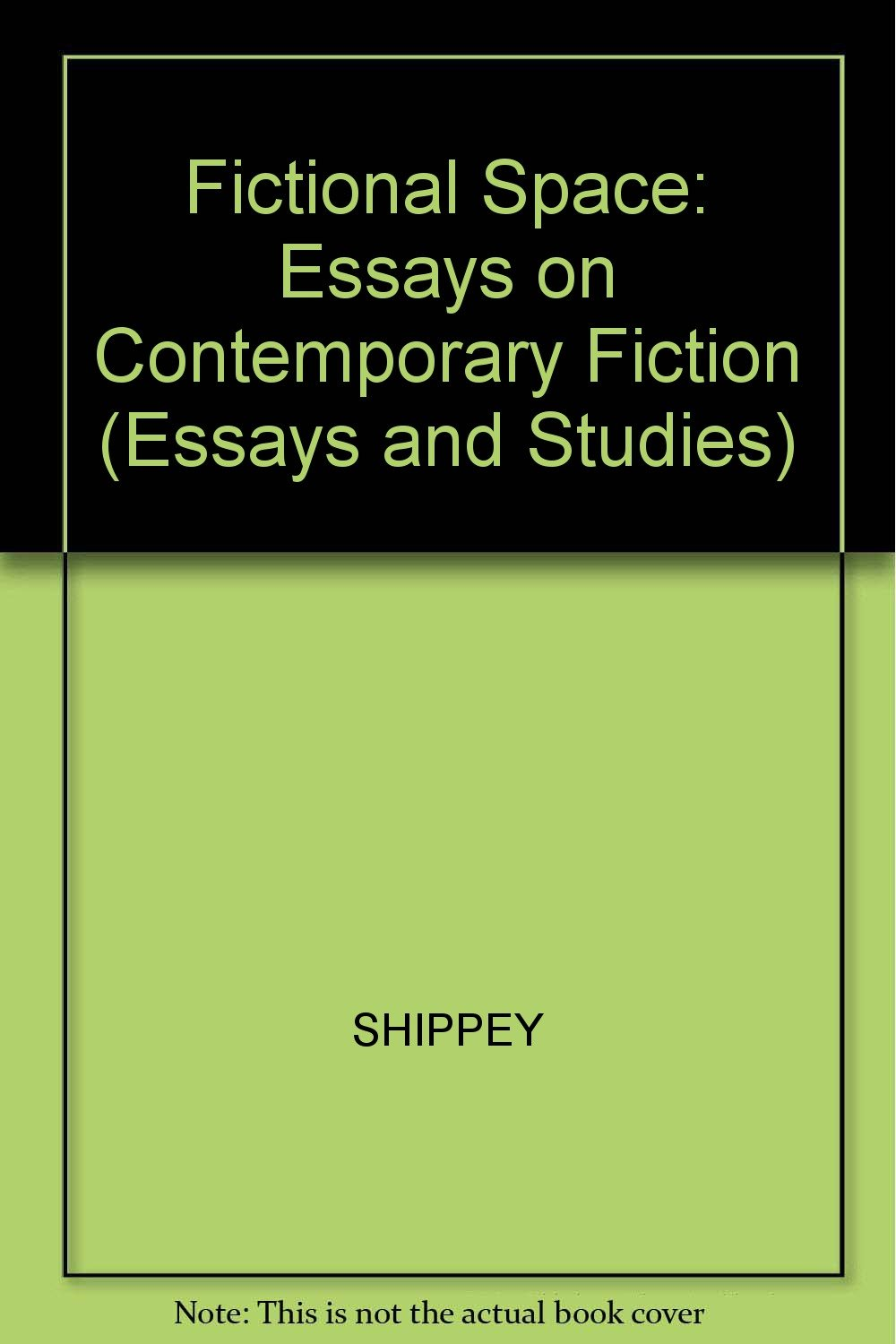Fictional Space Essays On Contemporary Science Fiction Essays And  Fictional Space Essays On Contemporary Science Fiction Essays And  Studies Paperback  April