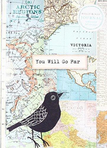 Molly & Rex Soft Cover Journal Traveling Bird