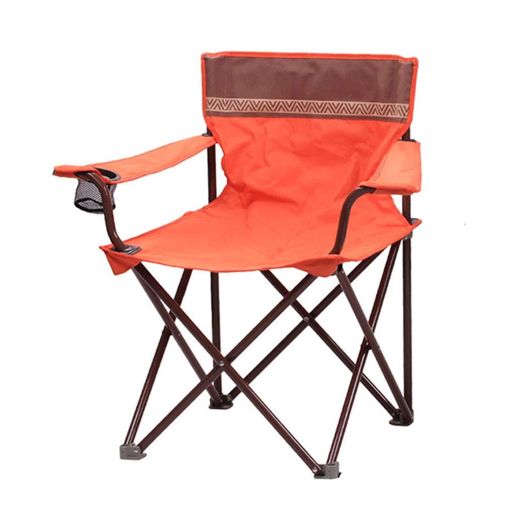 買取り実績  屋外折りたたみ椅子ポータブル釣りレジャーマザールビーチチェアシンプルスツール(54 54* Orange 54* 80センチメートル) (色 : (色 Orange) Orange B07KG8Q5XP, 茶道具専門店 松風園まつの:9e68e65d --- ballyshannonshow.com