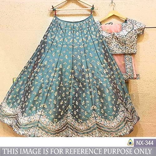 semi stitched lehenga: Amazon in: Clothing & Accessories