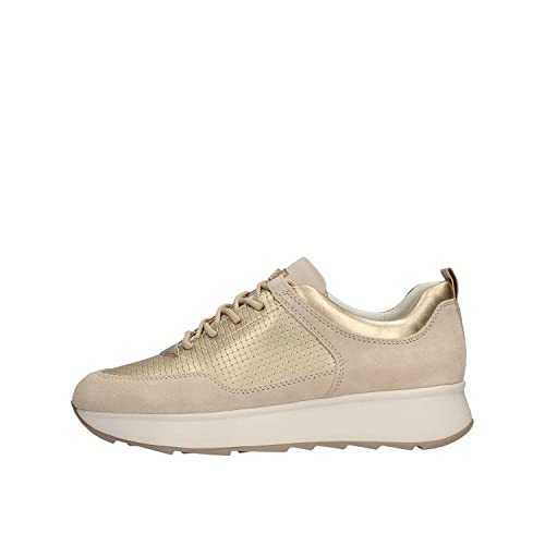 new style 5ee20 92a5e Geox Women's D Gendry B Low-Top Sneakers: Amazon.co.uk ...