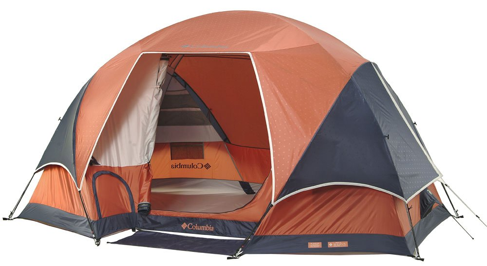 Amazon.com  Columbia Bugaboo II Geo Dome Tent with Foot Lockers  Family Tents  Sports u0026 Outdoors  sc 1 st  Amazon.com & Amazon.com : Columbia Bugaboo II Geo Dome Tent with Foot Lockers ...