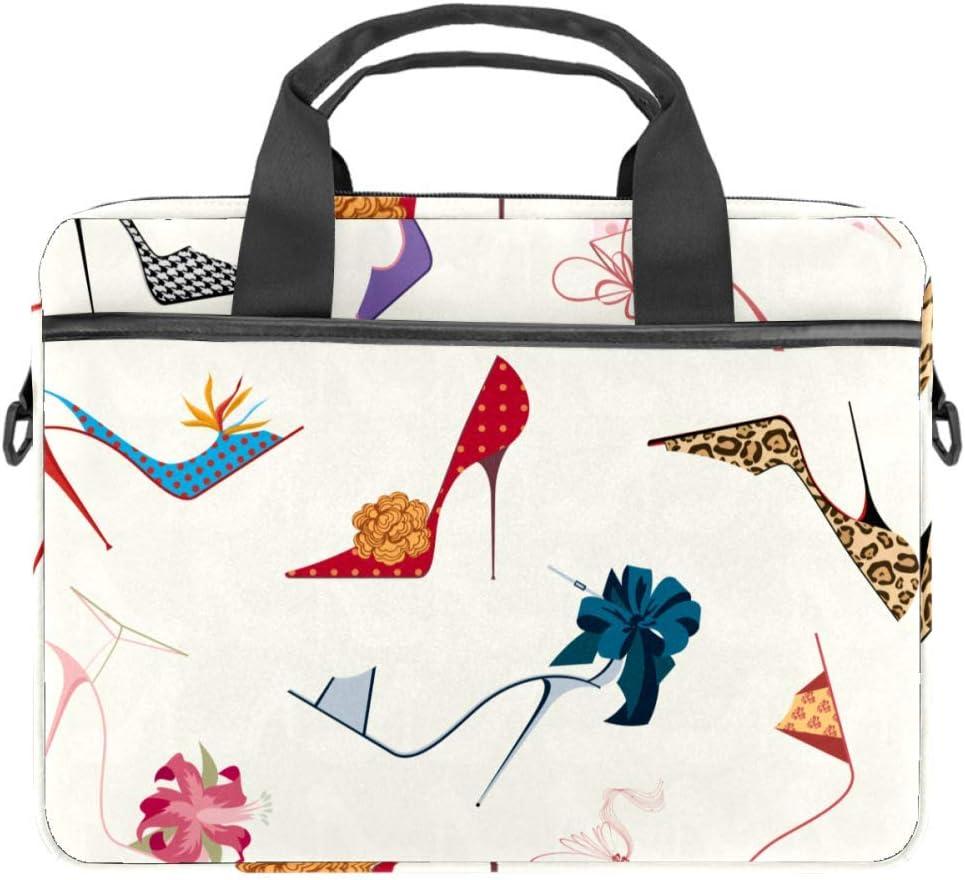 Van Surf Truck Retro Camping Laptop Bag Satchel Tablet Sleeve Business Shoulder Bag Document Handbag Messenger Bag Briefcase 15x5.4 Inch