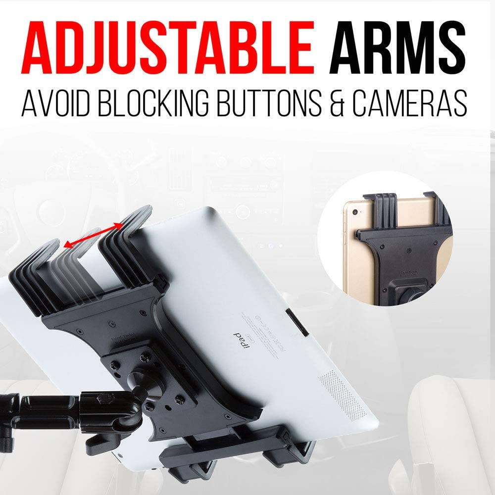 adjustable tablets arms for semi trucks