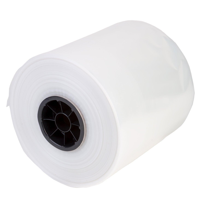 """Hudson Exchange LDPE Poly Tubing, Mini Roll, 8"""" W x 1000' L, 2 Mil"""