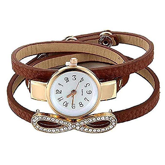 Amazon.com: TOPOB - Reloj de pulsera analógico para mujer, 8 ...