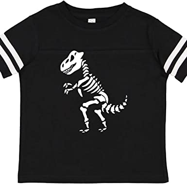 inktastic Funny Girl Dinosaur Skeleton Toddler T-Shirt