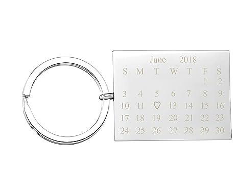 Amazon.com: Jovivi personalizado calendario FECHA mensaje ...