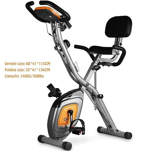 Bike SXD Bicicleta de Ejercicio Vertical magnética Plegable de ...