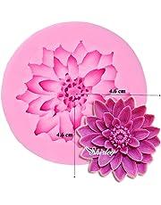 Sungpunet Lotus Flower Silicone Fondant Cake Mould Chocolate Mould