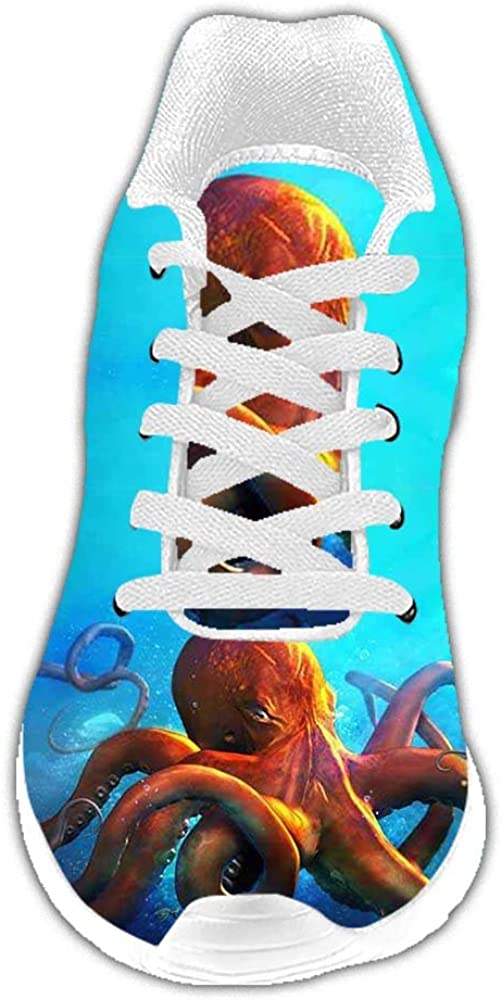 Dalliy Personalizado Pulpo Las Zapatillas para Hombre: Amazon.es ...