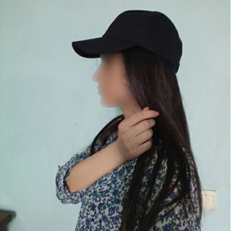 Kievil Summer Baseball Cap Women Mens Fashion Street Hip Hop Adjustable Caps Suede Hats for Men Black White Caps at Amazon Mens Clothing store: