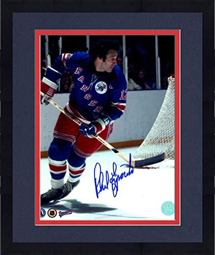 cheap for discount ce5de fd954 Framed Phil Esposito New York Rangers Signed 1st Game 8x10 ...