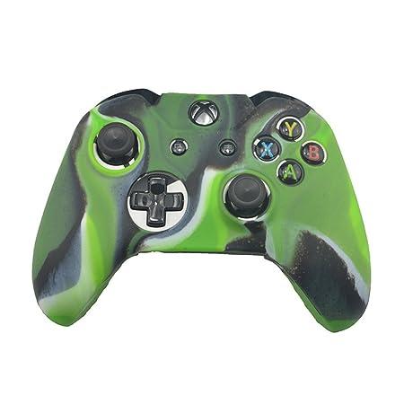 Amazon.com: Carcasa de silicona suave para Xbox One ...