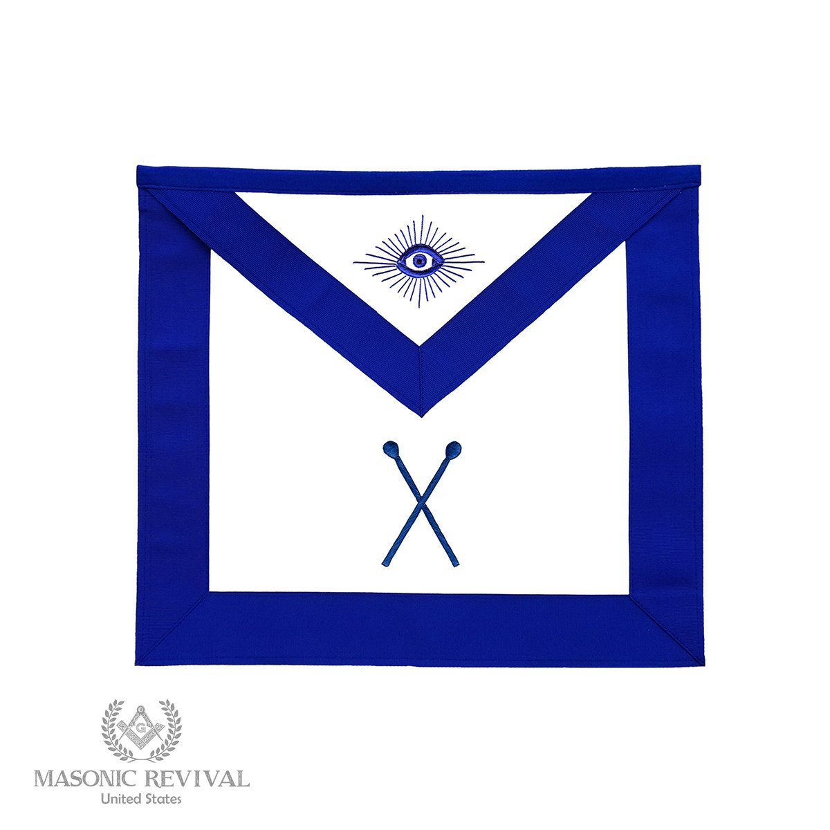 Masonic Revival Master of Ceremonies Officer Apron by 15MA167