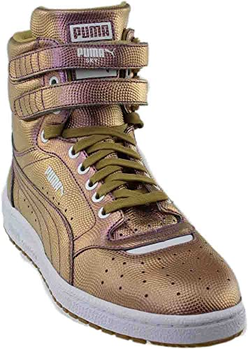 c73e257aa50 PUMA Men s Sky II Hi Holo Gold Athletic Shoe