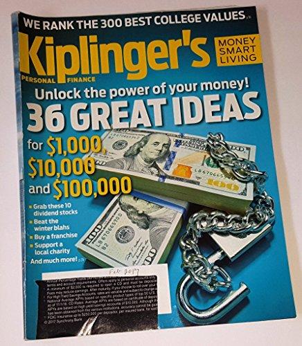 Kiplinger's Personal Finance Magazine February 2017   36 Great Ideas