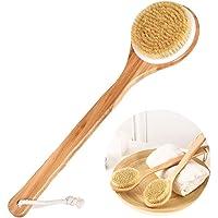 Badborste ryggborste, kroppsborste fri massageborste, trä massageborste våt/torr användning