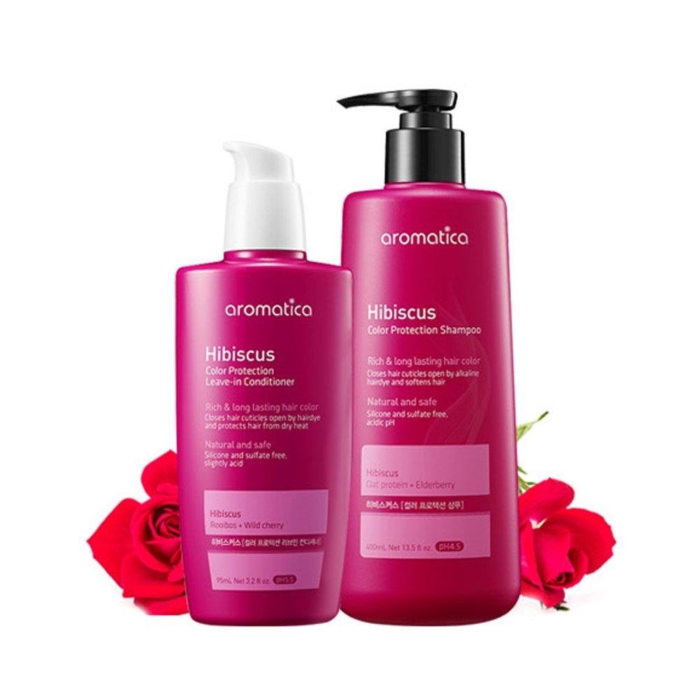 Amazon Aromatica Hibiscus Color Protection Shampooconditioner