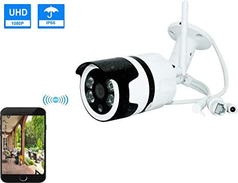 1080p Outdoor Wireless Smart HD Home Security IP Camera With Night Vision New
