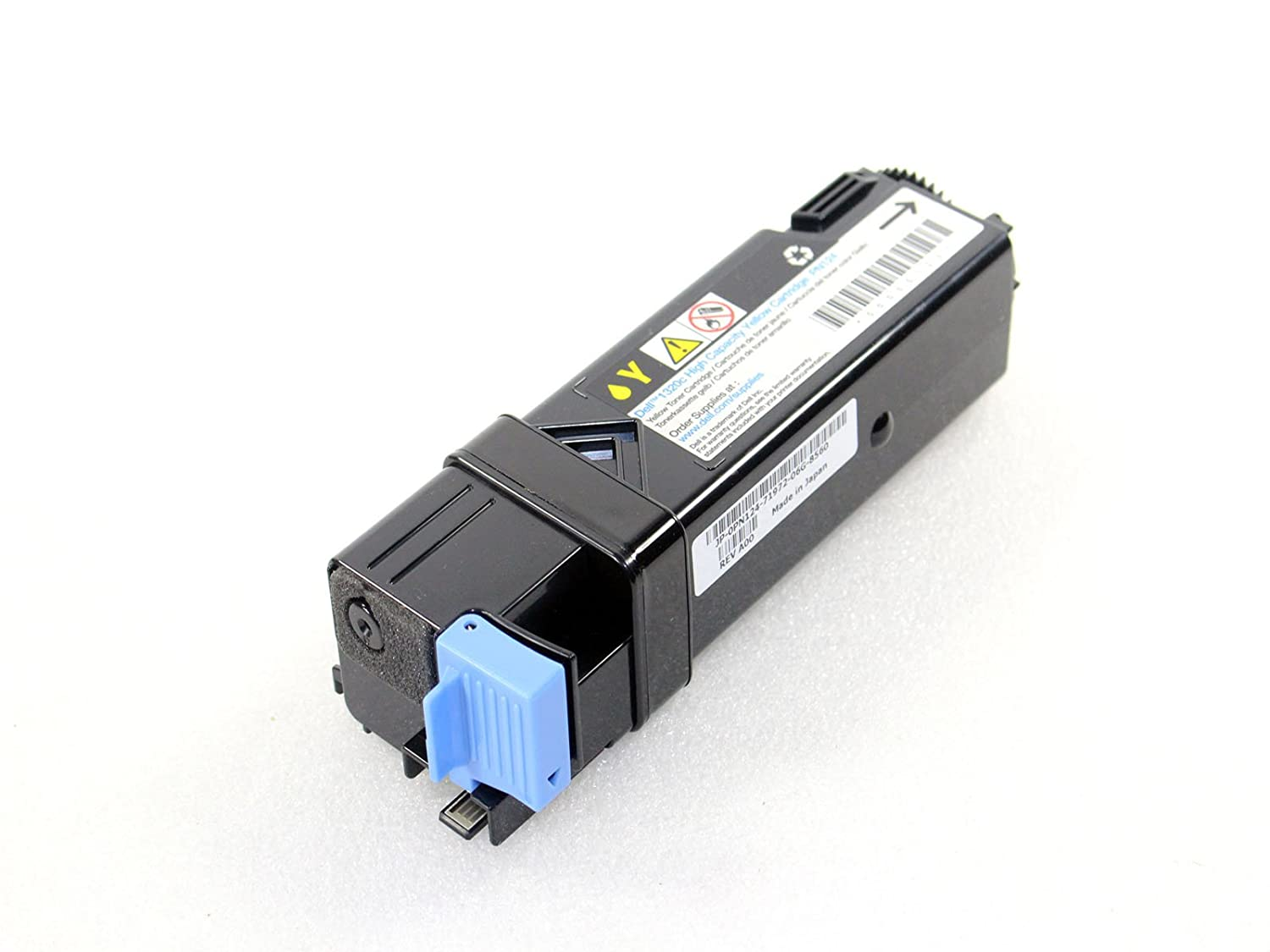 Genuine PN124 Dell 1320C Printer High Yield Yellow Toner Cartridge Compatible Part Numbers: PN124 by Dell B00G5IN37I