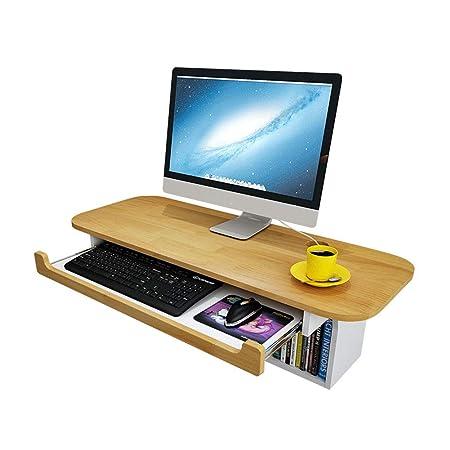 Bseack Mesa El Escritorio montado en la Pared de la computadora de ...