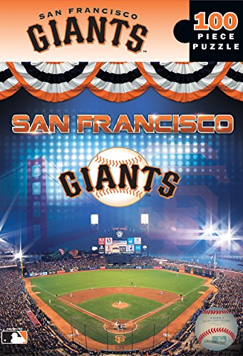 MasterPieces MLB San Francisco Giants Jigsaw Puzzle, 100-Piece