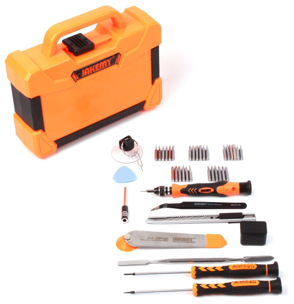 IPOTCH Mobile 45 in 1 Repair Tools Kit Opening Tools Screwdriver Set for Computer