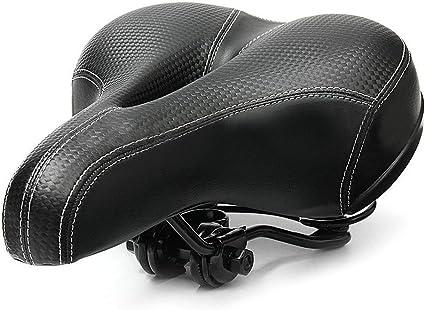 Universal Bike Saddle Seat Replace Gel Pad Wide Comfort Bicycle Seat For Big Bum