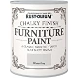 Rust-Oleum RO0070016G1 - Pintura De Chalky Finalizar Muebles - Invierno Gris - 750Ml