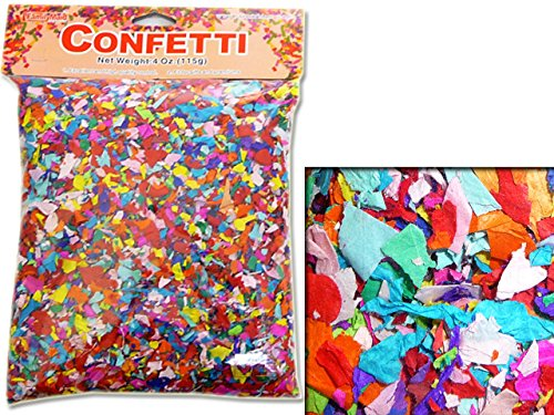 CONFETTI 115GM/BAG , Case of 144 by DollarItemDirect
