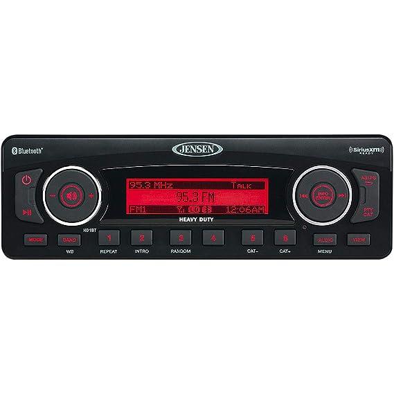 Jensen 06-13 Harley FLHX2 Bluetooth Stereo - AM/FM/WB/USB/iOS/Sirius XM  Ready