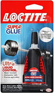 Loctite Super Glue, Ultra Liquid Control 0.14 oz (1647358)