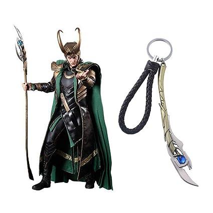 Inveroo Marvel Joyería Los Vengadores 4 Loki Cetro Llavero ...