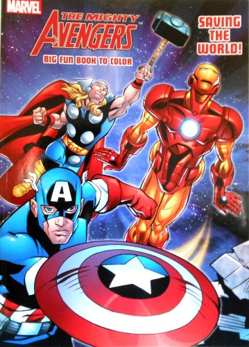 Super Heroes Coloring Books - Marvel the Mighty Avengers Coloring Book